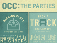 OCC: The parties poster