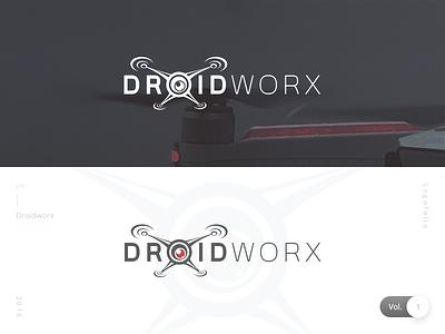 Droidworx | Logofolio Vol. 1 danilozac logo drone logo droidworx