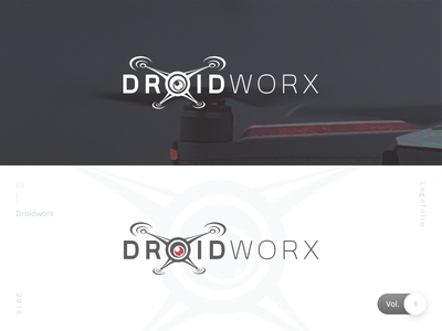 Droidworx   Logofolio Vol. 1 danilozac logo drone logo droidworx