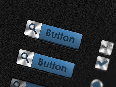 UI Bluesteel ui button