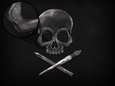 Skull Fake 3D