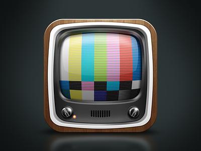 iOS Television Icon ios television tv hidpi ui icon youtube