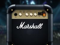 Marshall icon 580