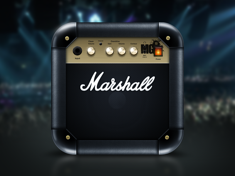 Marshall iOS Icon marshall icon ios speaker amplifier hidpi