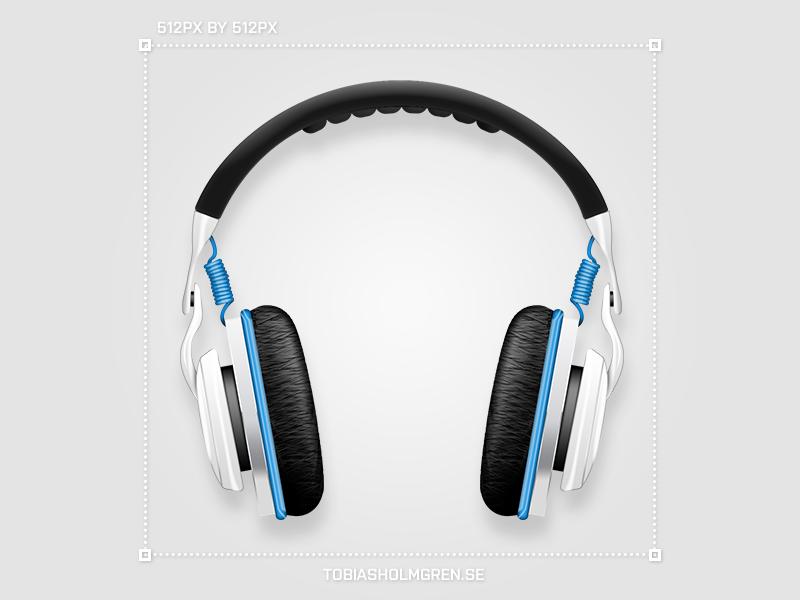 Headphones icon sound icon headphones