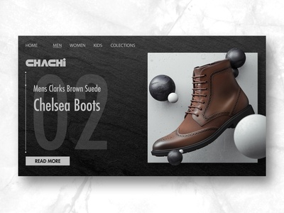 Chelsea boots interface ui / ux