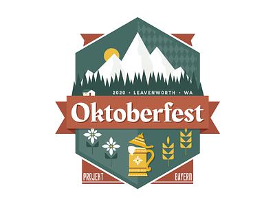 Oktoberfest Logo illustrator festival