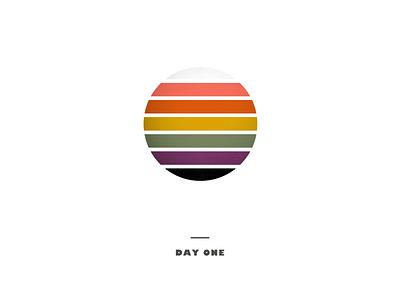 Day 1 texture colorful rainbow illustrator design illustrator