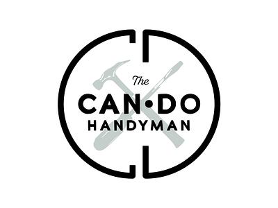The Can Do Handyman Logo - Early Concept logo design logo designer illustrator tool logo handyman logo circle logo round logo early concept logodesign logo
