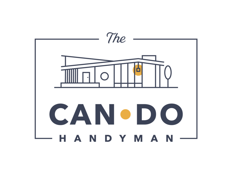 The Can Do Handyman Logo - Final Version logo design branding logo designer adobe illustrator small business illustrator logodesign logo