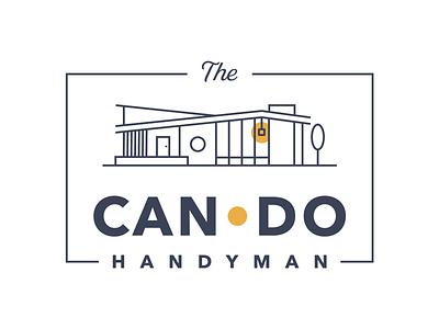 The Can Do Handyman Logo - Final Version logo design branding logo designer adobe illustrator small business illustrator logodesign logo