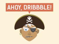 Ahoy, Dribbble!