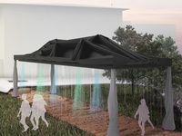 Aquaractive: An interactive water curtain