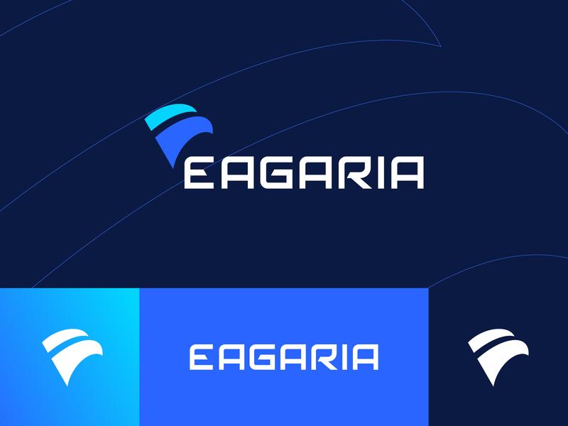 Eagaria grid identity symbol mark branding illustration eagle branding creative logo bird mark abstract mark abstract abstract logo eagle mark eagle logo eagle