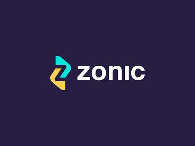 Zonic brand identity logo branding illustration letter mark logo letter mark z letter app logo zonic process technology z mark z logo z cooperative minimal creative abstract logo abstract