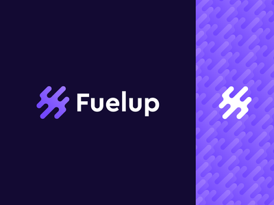 Fuelup logo icon letter mark minimalism lettermark letter f f minimalist power moving technology designer freelance brand designer brand identity branding logo abstract logo creative minimal abstract