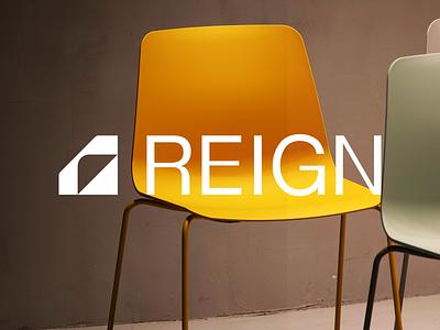 Reign freelance branding design identity illustration symbol letter mark r mark r logo technology abstract logo r branding brand design brand identity app furniture reign minimal clean abstract