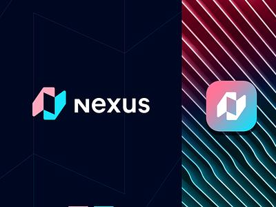 Nexus idea modern branding identity future way path simple creative minimal mark design letter mark symbol identity illustration brand identity branding logo app logo abstract
