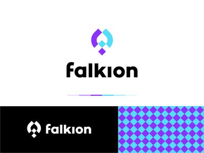 Falkion clever creative logos logo design bird logo bird mark animal symbol letter mark typography grid illustration branding mark identity logotype f mark logo