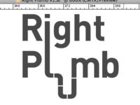 Right Plumb