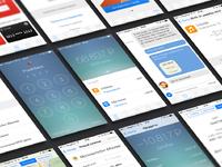 App screens presentation mock up vol 2