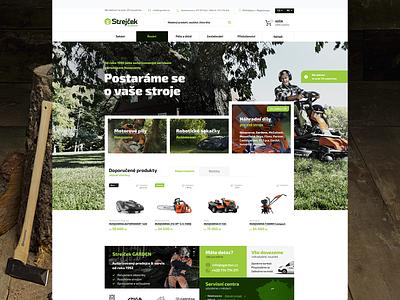 SGarden ui application webdesign