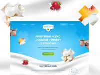 Zravá Farma natural webdesign farm milk