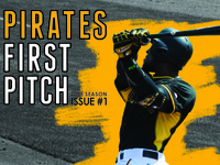 Pirates First Pitch Publication Design