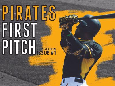 Pirates First Pitch Publication Design sports design publication design opening day baseball pirates