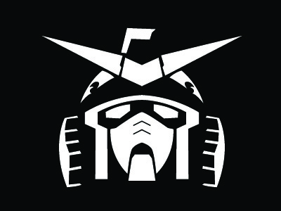 Gundam RX-78-2 mech robot head anime gundam