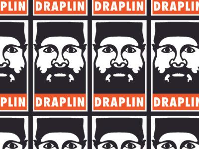 Draplin Sticker sticker design graphic aaron draplin