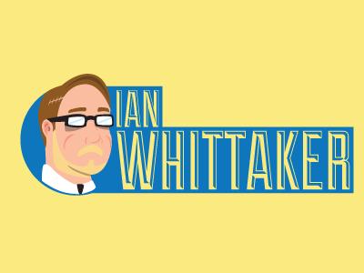 Ian Whittaker Logo logo self promo illustration duke blue yellow