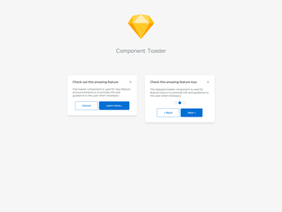 Component: Toaster ui design system components