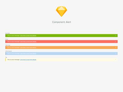 Component: Alert ui design system components