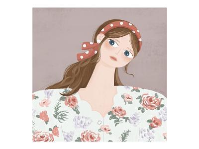 IPad Procreat Practice girls design procreate illustraion ipadpro art