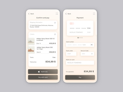 Credit card chekout #dailyui#002_1