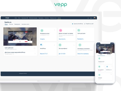 vepp dashboard&icons
