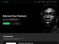 Tusant WordPress Podcast Theme - SecondLineThemes