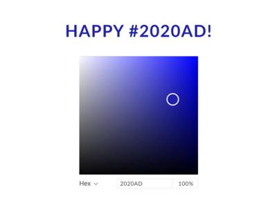 Happy New 2020!