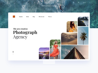 Photographer Agency Theme
