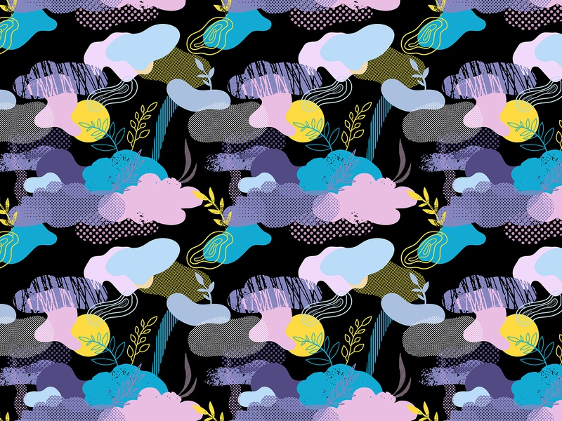 Abstract pattern texture memphis fabric pattern background backdrop design vector illustration illustration abstract abstract design vector seamless pattern