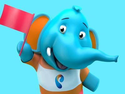 Character mascot mascot character site coalla design web-design