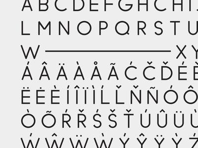 Blcktg typeface