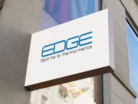 EDGE Sports & Performance Logo Design