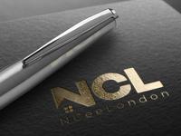 NCL Real Estate Agency Logo Design