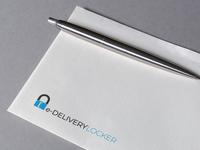 e-Delivery Locker Logo Design