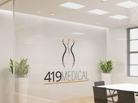 419 Medical Logo Design
