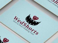 WedShorts Wedding Films Logo Design