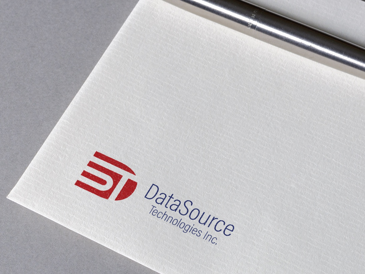 DataSource Technologies Logo Design vector technologies modern logo design logo graphics design corporate business