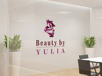 Beauty by Yulia Logo Design